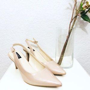 Jones New York Fran slingback Nude sandals
